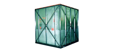 Steel Case for Export Packaging
